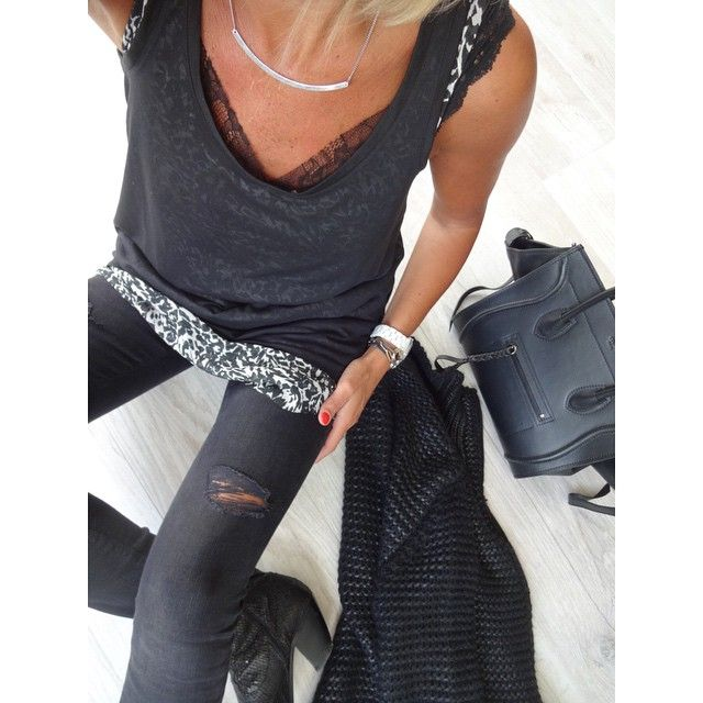 AnneSo @banso73 Ootd #outfit #loo...Instagram photo | Websta (Webstagram)