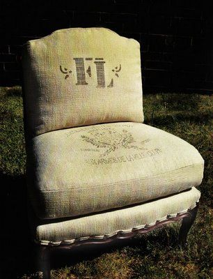 French Laundry Chair: