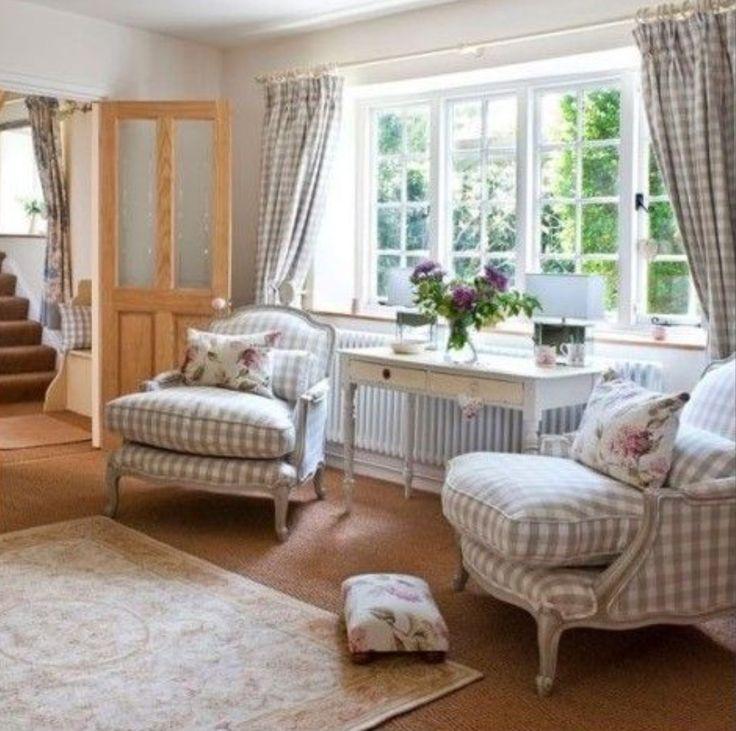 Les 258 meilleures images concernant country campagne for Rideaux cottage anglais