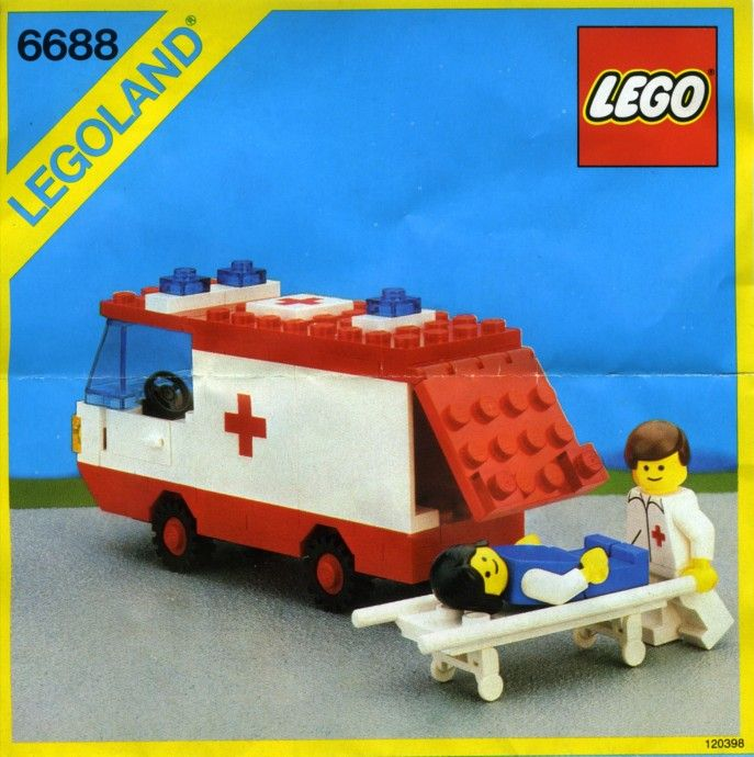 6688-1: Ambulance | Brickset: LEGO set guide and database