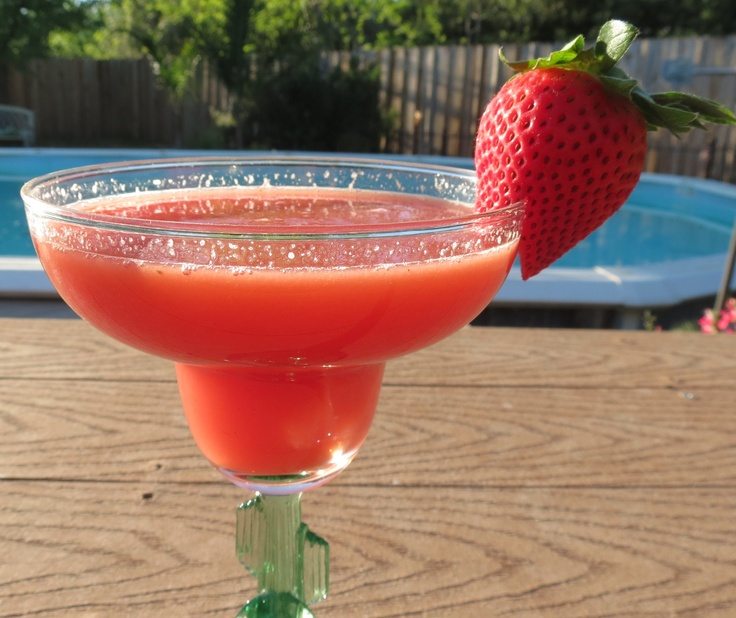 watermelon strawberry lemonade