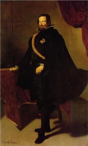 Don Gaspde Guzman, Count of Olivares and Duke of San Lucla Mayor - Diego Velazquez