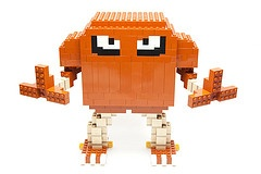 LEGO HITMONLEE!!! Goodness I am such a child...