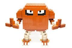 LEGO HITMONLEE!!! Goodness I am such a child...