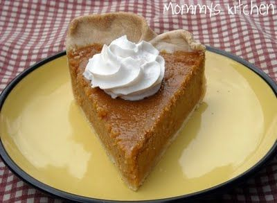 Mommy's Kitchen: Southern Sweet Potato Pie for The First Day of Fall!