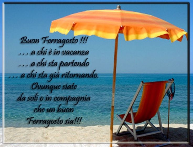 Favoloso 28 best buon ferragosto images on Pinterest | Party, Smiley and  JG05