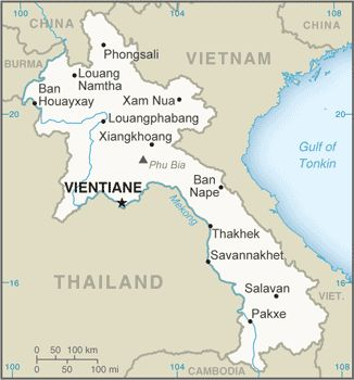 "LAOS TRAVEL ALERT:  The U.S. Government ""alerts U.S. citizens to a series of recent shooting attacks along Road 13, a major thoroughfare connecting Luang Prabang to Vang Vieng, two of Laos' most popular tourist destinations.""  3/7/16"