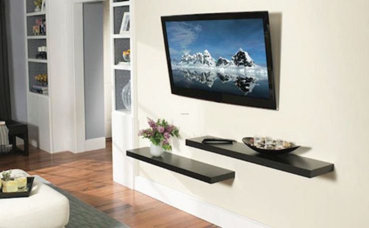 18 Chic and Modern TV Wall Mount Ideas for Living Room Mounted