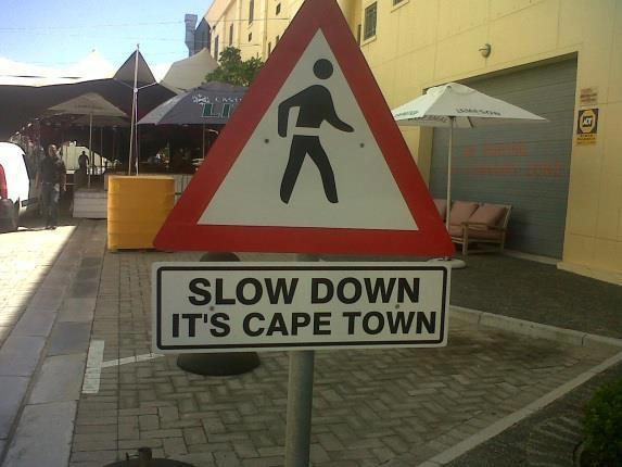 laid back Cape Town!
