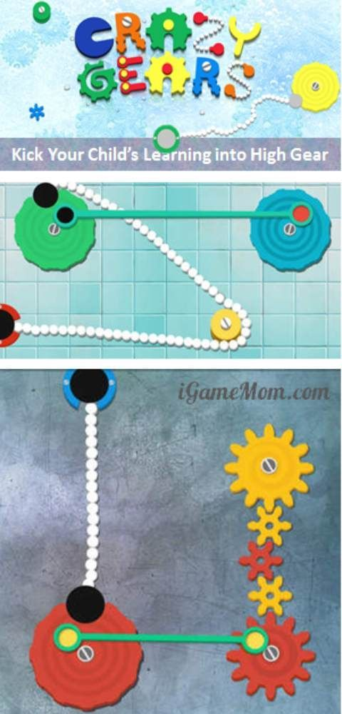 A fun STEM app for kindergarten and school age kids - kids build and connect gears, learn science and engineering. Interactive play for kids of all ages.