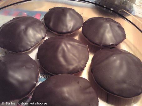 Biskvier med chokladsmak