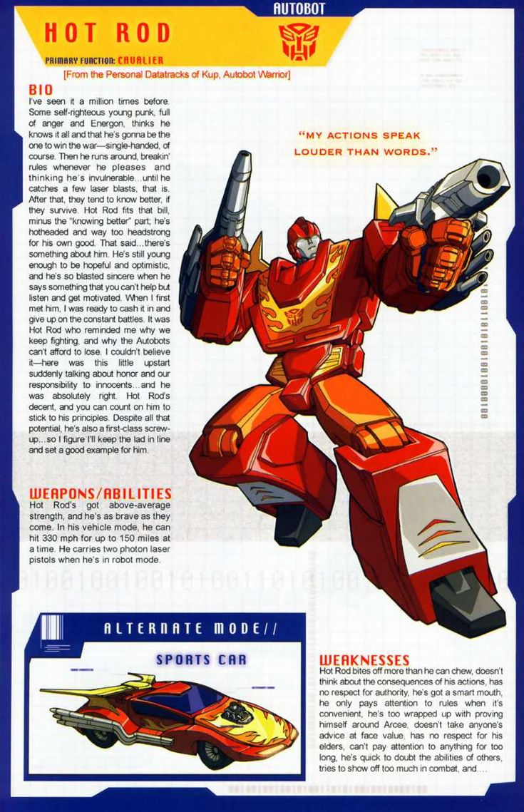 Transformers Universe - Gallery: G1 Hot Rod