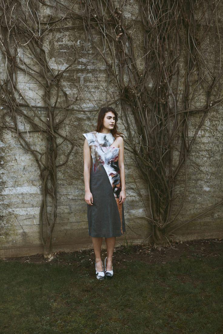 zero waste fashion and felting