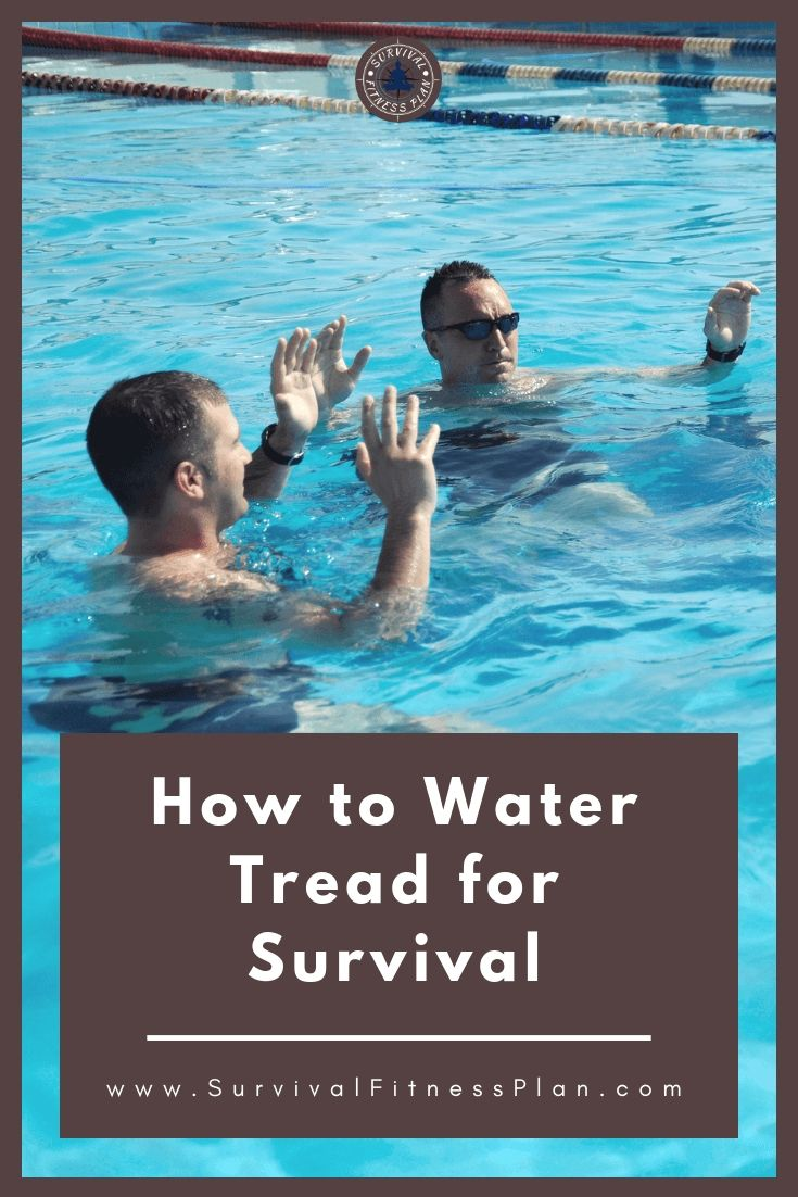 How To Tread Water For Long Periods Of Time Survival Swimming Swim Technique Swim Lessons Learn To Swim