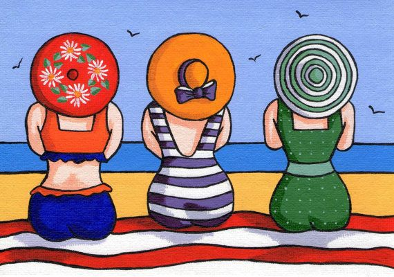 Three+Ladies+Greetings+Card+by+OliviaGoddardDesigns+on+Etsy,+£2.25