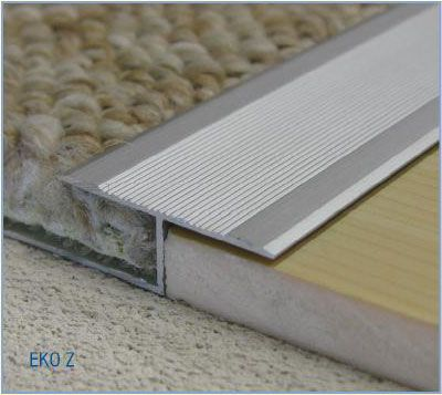 Carpet Trim Z Carpet Bar Door Strip Laminate Wood Floor