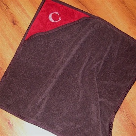 Grace Violet: How to make a hooded towel