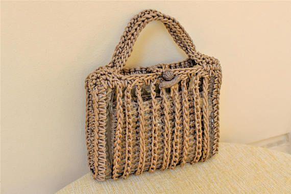 Special offer 65$ ---- Original price 90$ Mini clear purse, innovative design!