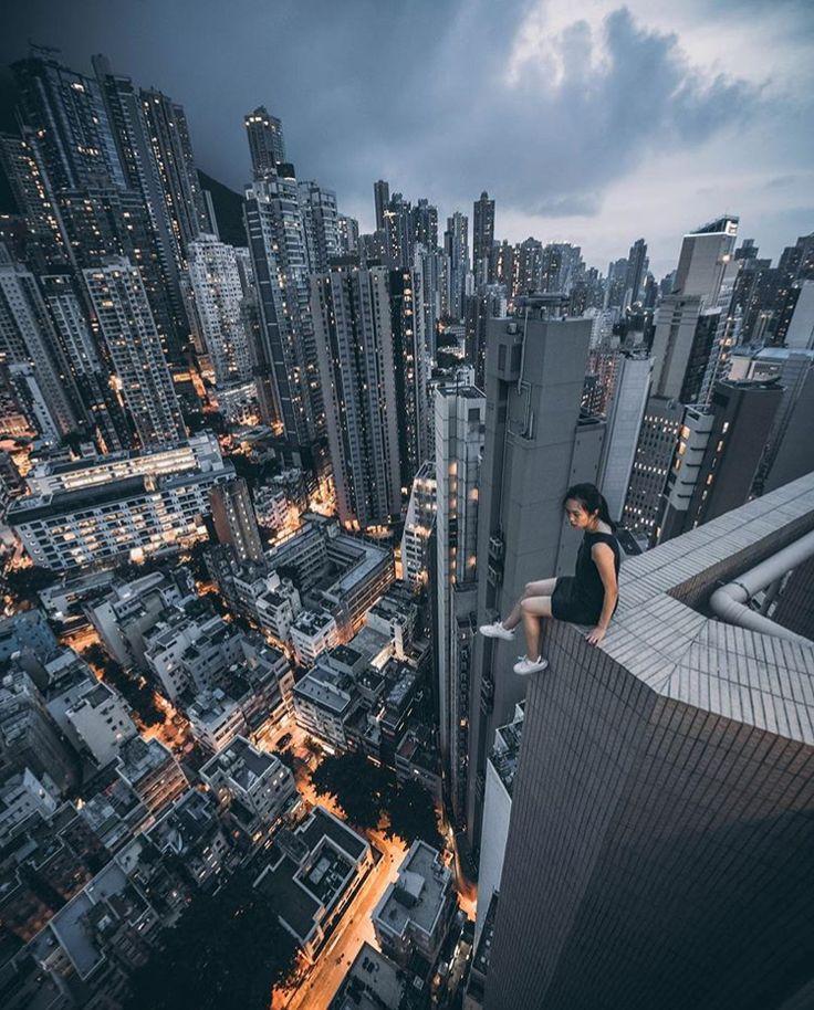Hong Kong skyline. By @st_ella on Instagram