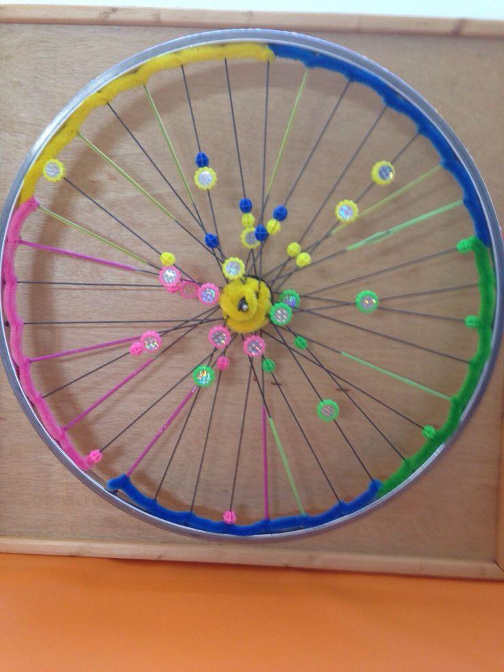 Prachtig sensorisch wiel