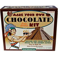 Helps 4.5 children.  Ancient Aztecs Chocolate Kit at The Child Health Site