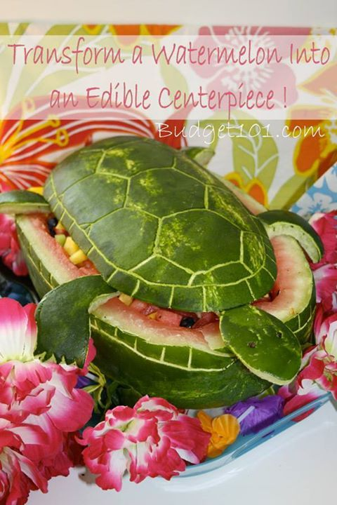 Thinking of decorating for upcoming graduations, weddings, etc? Here's are some gorgeous Edible Centerpieces... 30+ templates