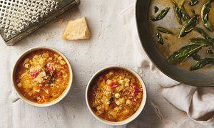The weekend cook: Thomasina Miers' recipes for warming winter vegetable soups   Life and style   The Guardian