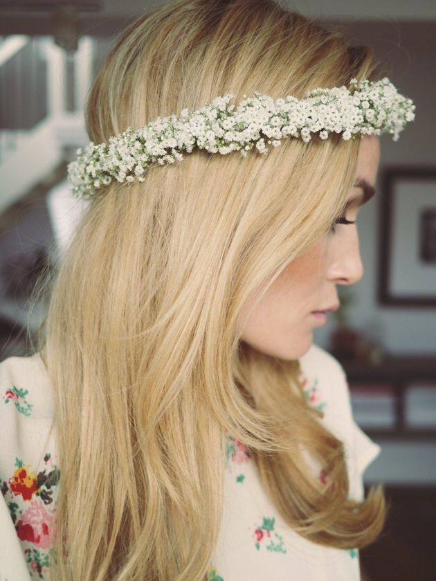 Style...Camilla Pihl // Flowers in My hair
