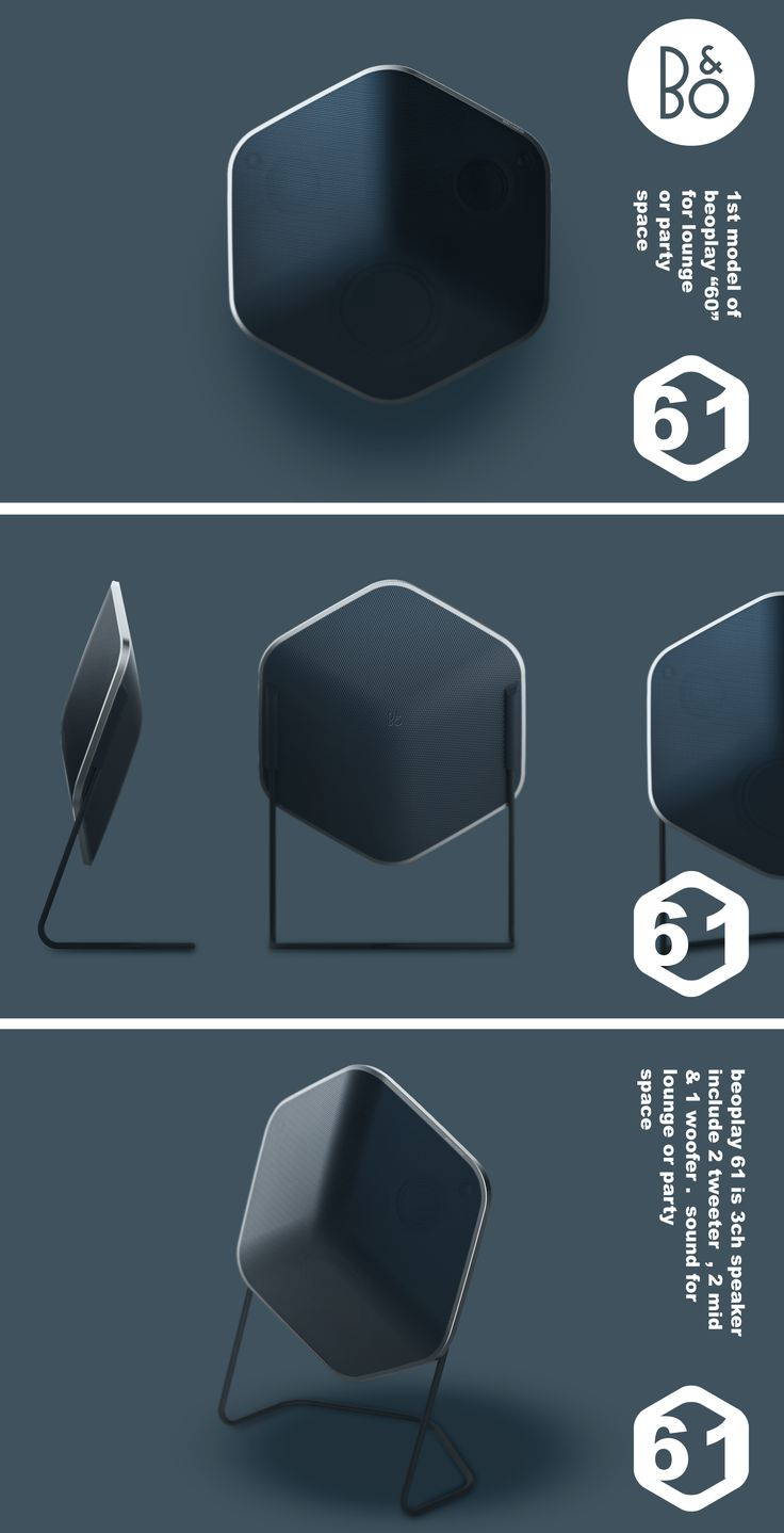 This project is proposal for B&O speakers.