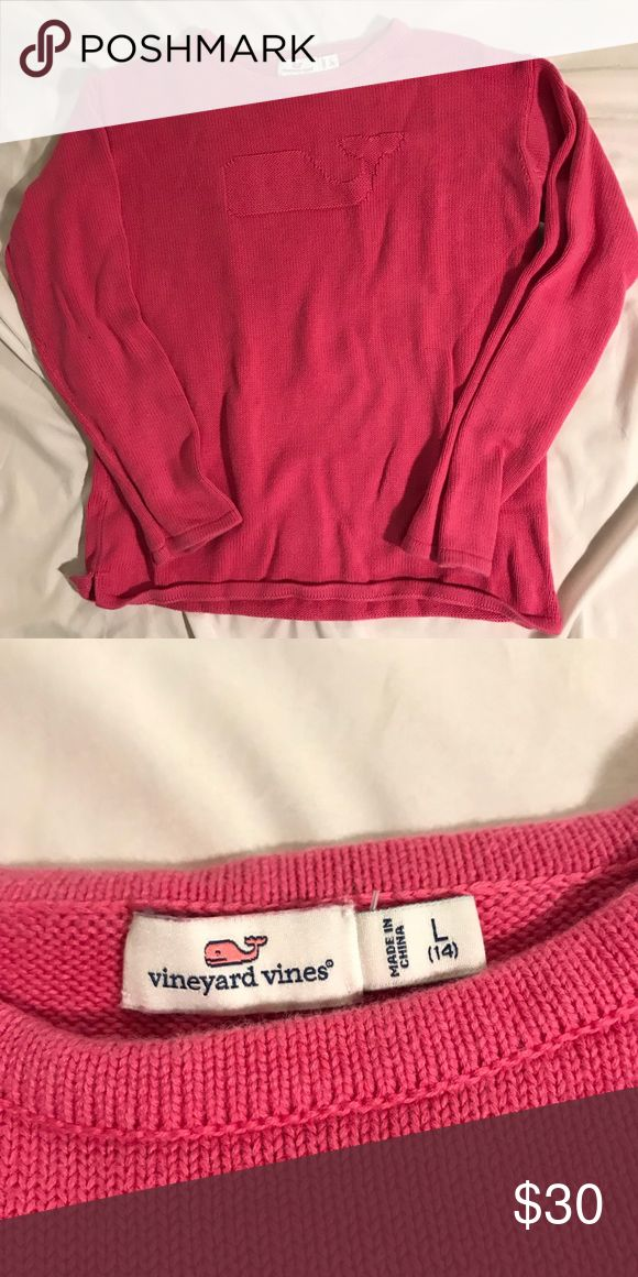 Vineyard Vines Girls Sweater Super cute and in great condition! We do bundles:) Vineyard Vines Shirts & Tops Sweaters