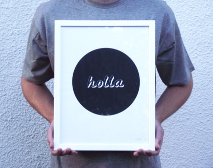Holla Print  www.aliceberrydesign.com  COPYRIGHT ALICE BERRY