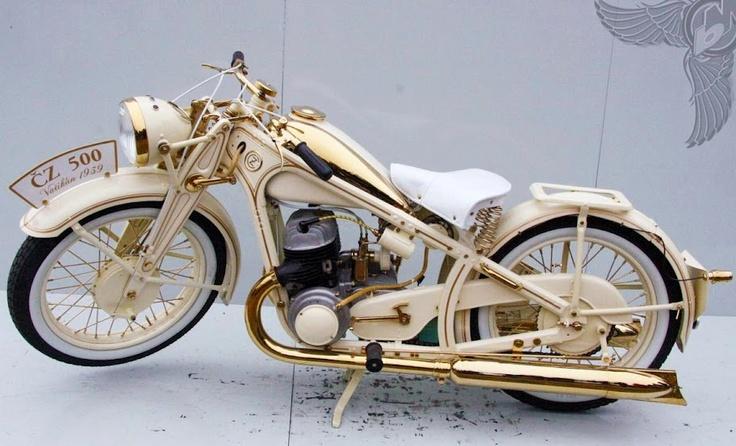 Amazing CZ 500 from 1939, Czechia #motorcycles #Czechia #technique