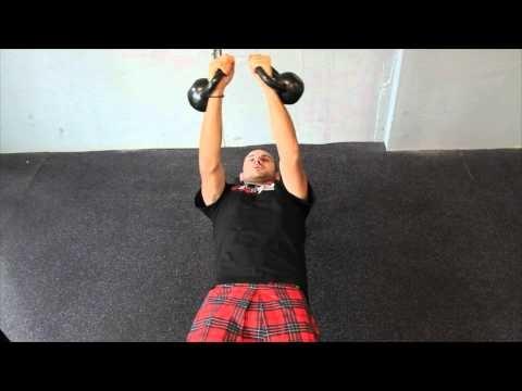 Warrior Dash Upper Body Training- Dumb Bell Butterfly