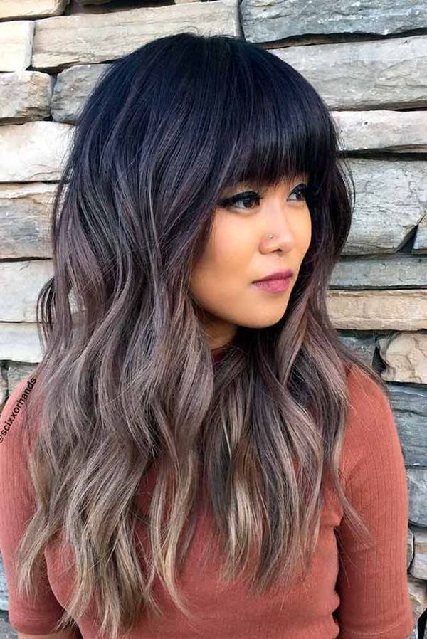 Https Thehairstyledaily Com Wp Content Uploads 2017 09 Amazing Thick Bangs For Long Hair With Layers In 2020 Long Layered Hair Layered Haircuts Long Layered Haircuts