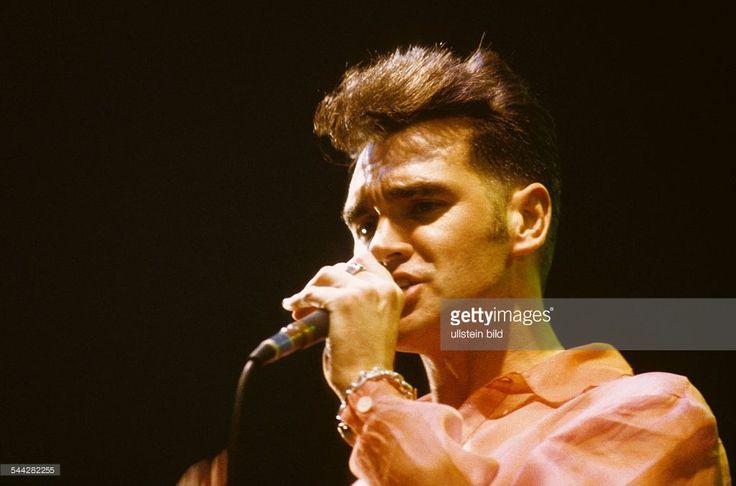 Steven Patrick Morrissey; Musiker, Saenger, Rockmusik; GB; Auftritt - 05.1991