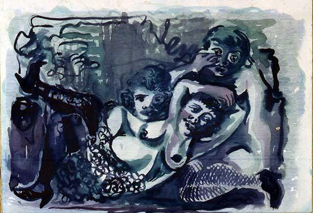 """1931.07.01 Renato Marino Mazzacurati, """"Canti Orfici - Sirene"""""""