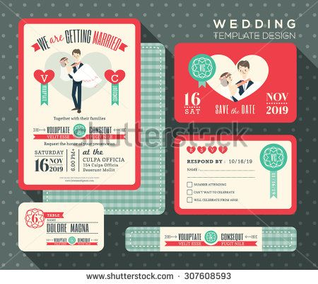 c8fef91d44d69ad27b1ede3fe550df74 retro wedding invitations response cards 51 best wedding invitations images on pinterest,Invitation And Response Card Set