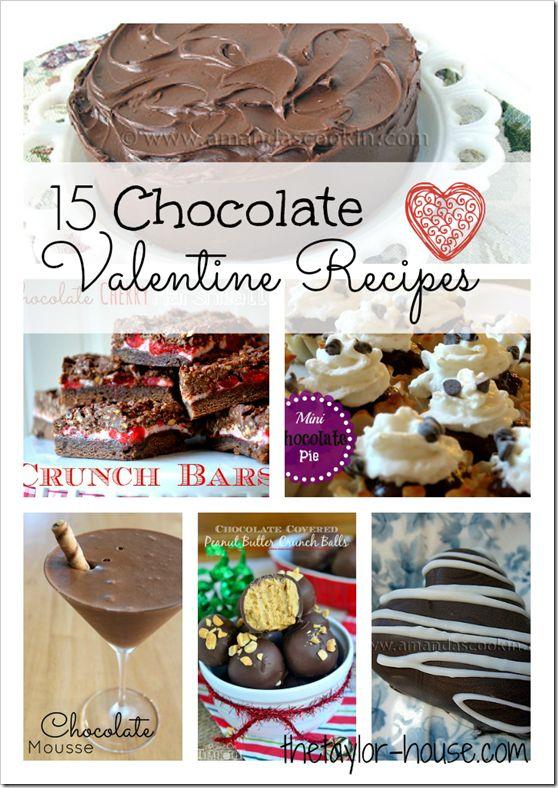 yummy chocolate valentines