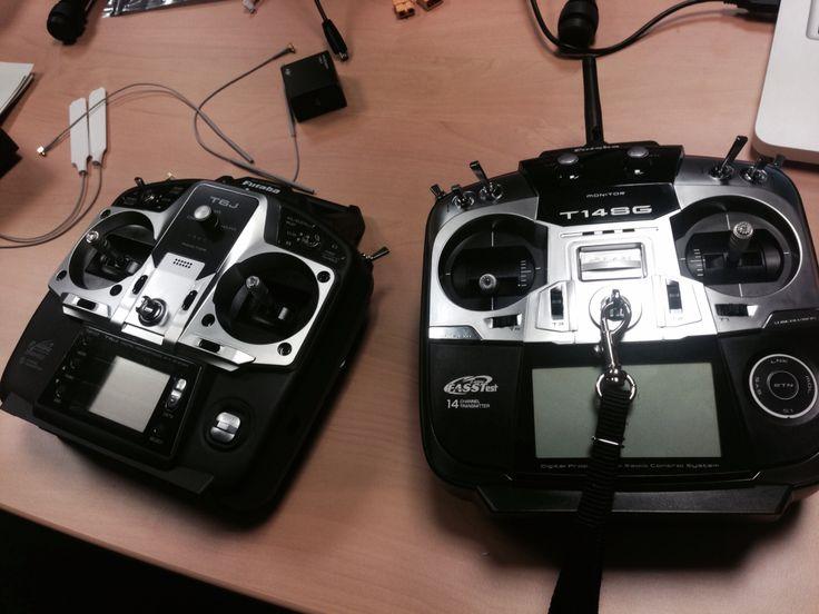 Unsere neuen Funken - Futaba T14SG und T6J