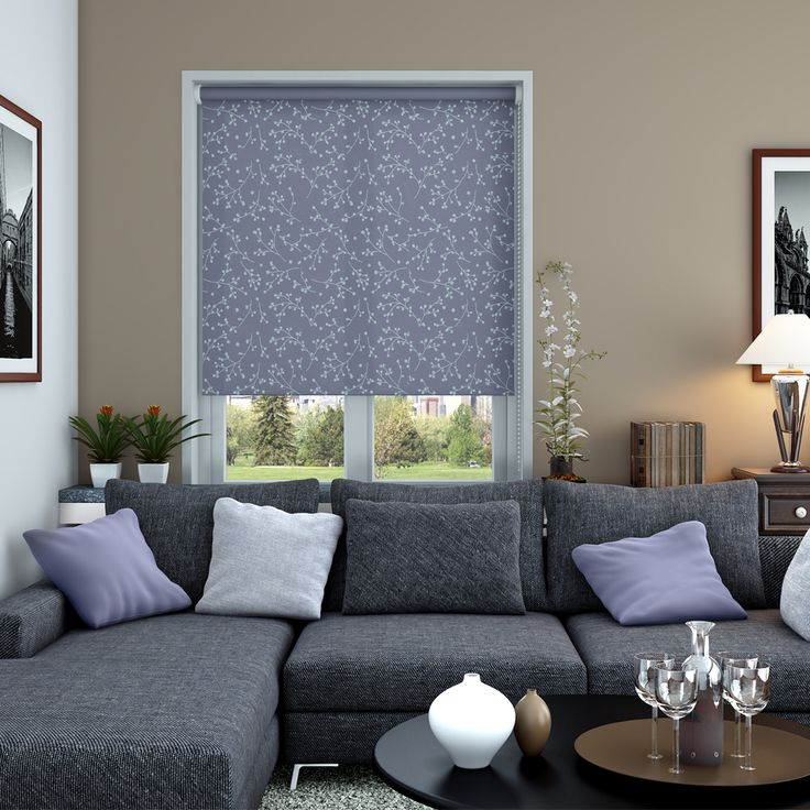 Nina Mulberry Roller Blinds - Make My Blinds