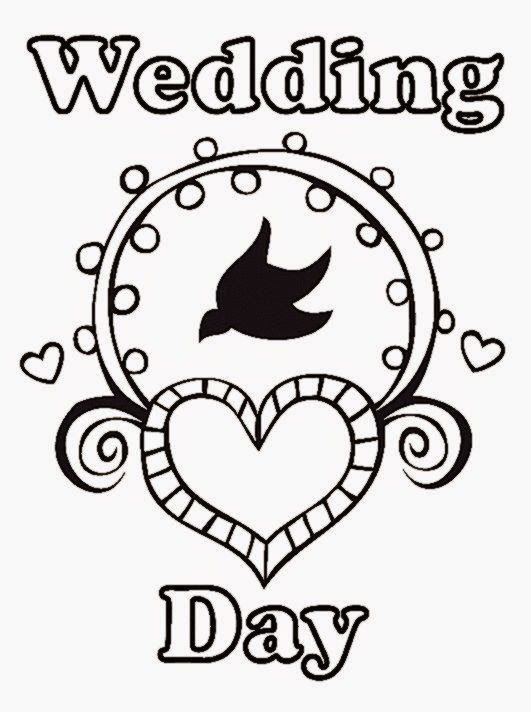 Free Printable Wedding Coloring Book Pages | Free Download Coloring ...