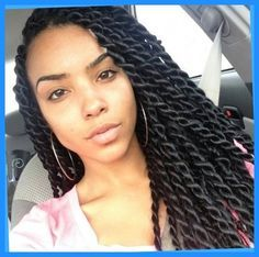 Large Senegalese Twists | For The Curls | Pinterest | Senegalese throughout Medium Senegalese Twist
