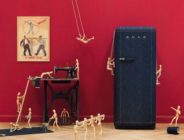 nuevo frigorífico Smeg . www.electroagramunt.es