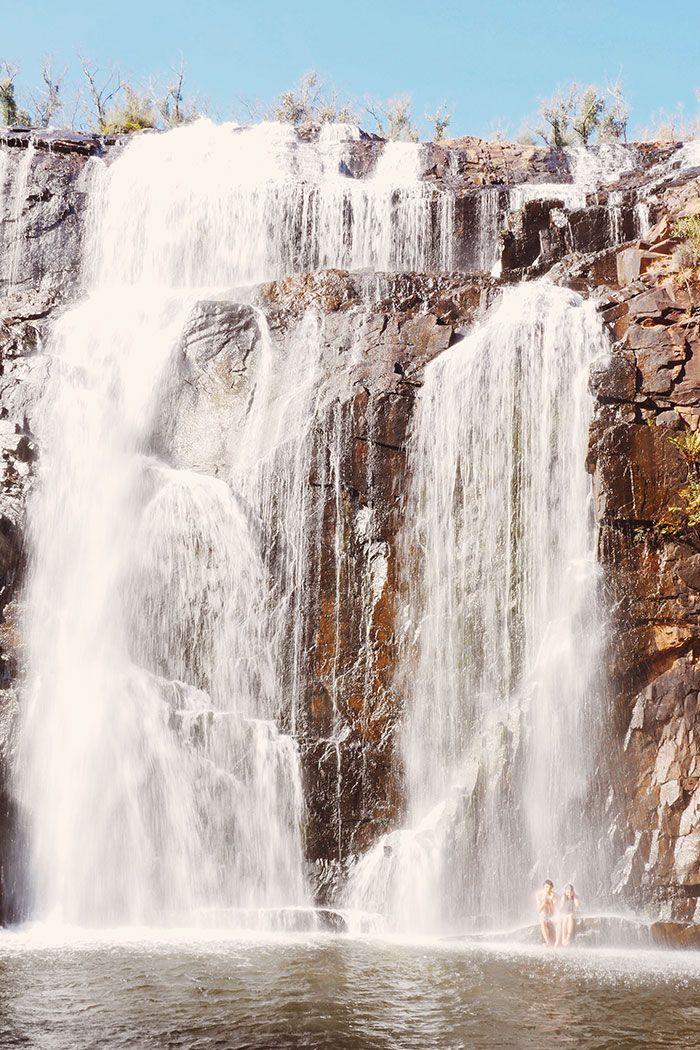 Mackenzie Waterfall at The Grampians, Victoria, Australia