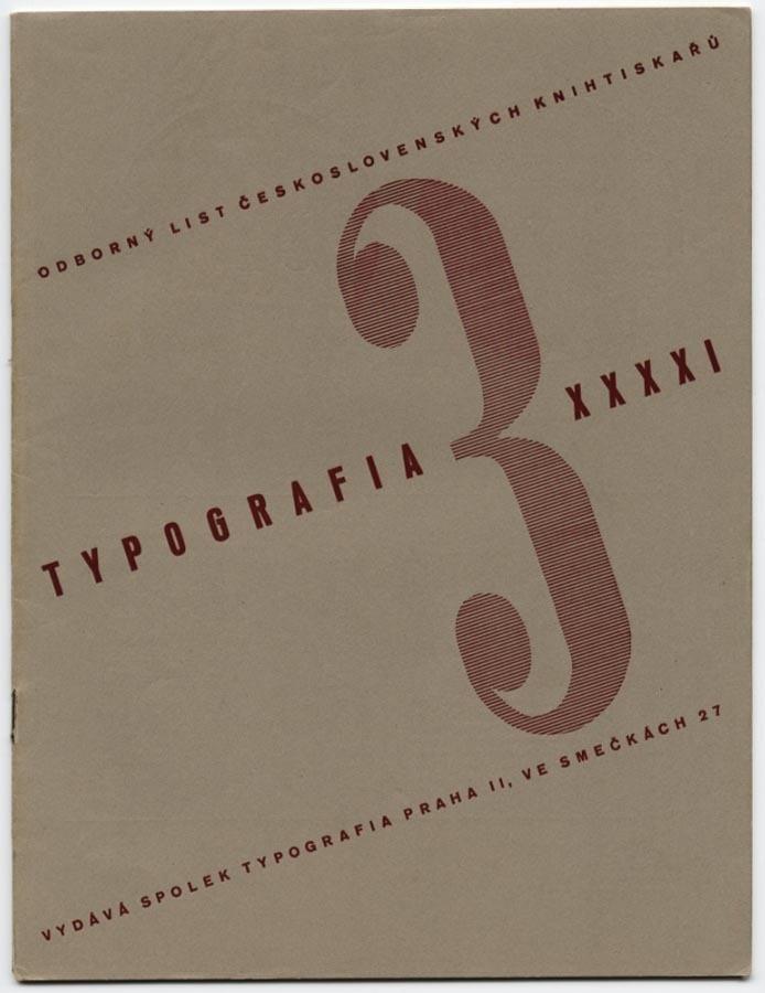 → 1934 Karel Teige Typografia Czech Avant Garde Franz ROH Hugo Steiner Prag