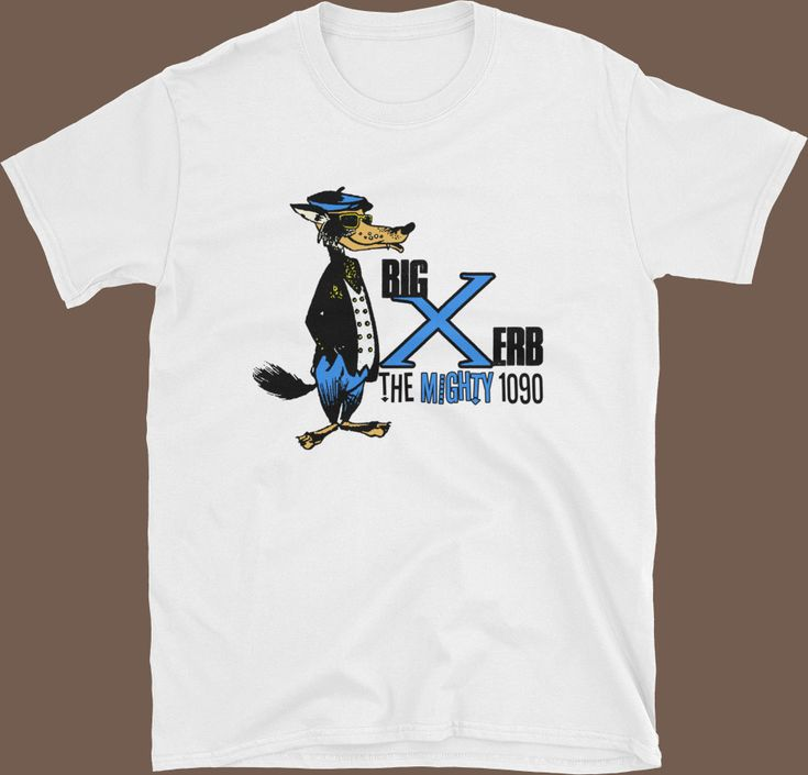 XERB The Mighty 1090 Radio Classic Soul Monster Wolfman Jack Unisex T-Shirt