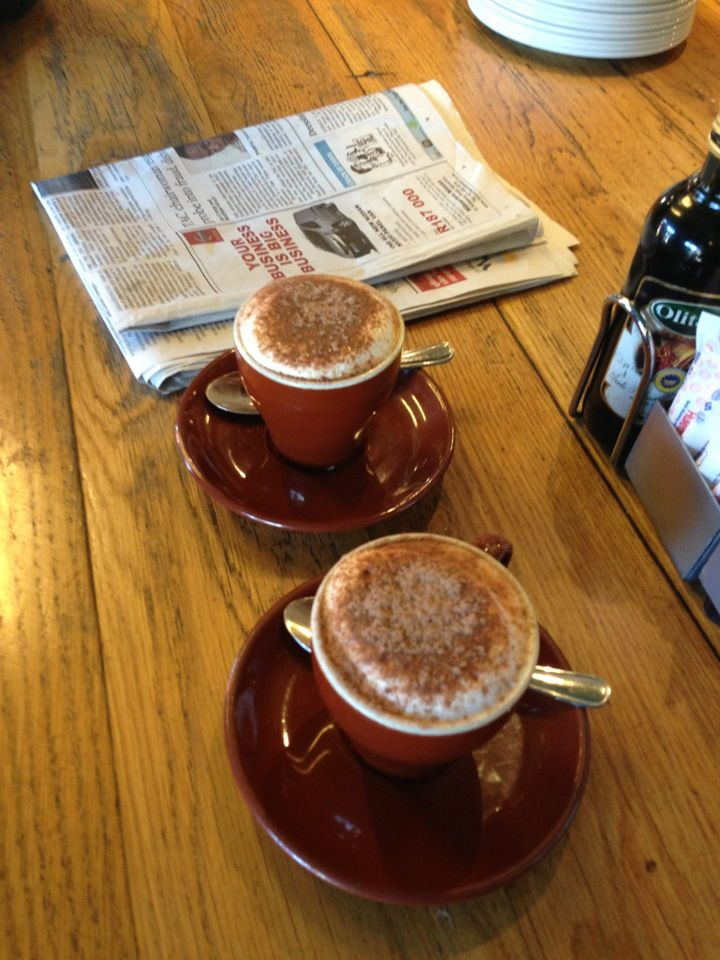 This is an awesome local meeting place for coffees and deli food