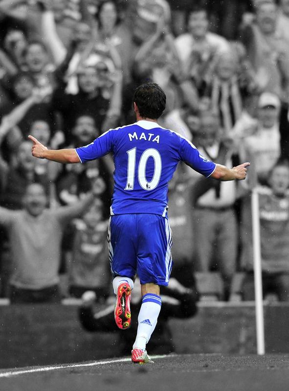 ~ Juan Mata debut goal for Chelsea FC ~