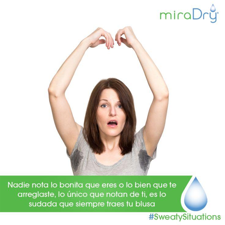 No dejes que la hiperhidrosis opaque tu belleza, conocenos #StayDry #miraDry #hiperhidrosis