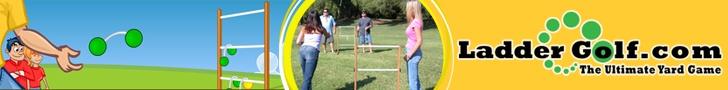 Make your own ladder golf, Hillbilly golf...